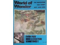 Vintage 1970's 'World of Wonder' magazine edition number 237.