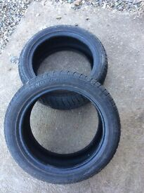 215/50/17 Winter tyres, good as new