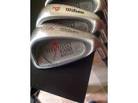 Golf clubs, Wilson gear effect 1200
