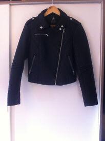 Primark Atmosphere fake leather jacket - AS NEW