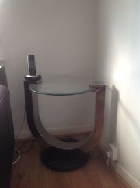 TWO LAMBOURNE LAMP TABLES