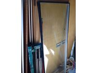 Double glazed glass unit recently removed.
