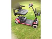 Pride go go traveller boot scooter in lovely condition