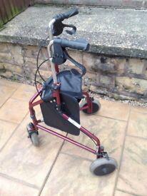 3 wheeler walking frame