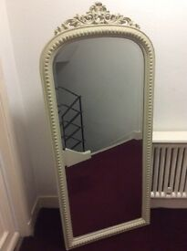 ARCHED TOP FULL LENGTH MIRROR