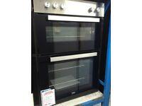 Beko built in double oven. RRP £349 price £230. New/graded 12 month Gtee