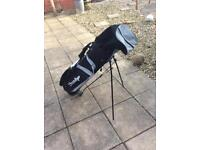 Dunlop golf bag with shoulder straps and stand