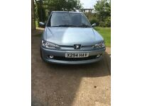 2001 Peugeot 306 Turbo 3 door.owned from new - full service history on private plates.