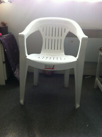 White Plastic Chair for Sale!!!