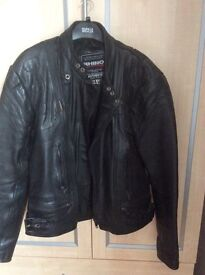 Rhino motorcycle jacket and bottoms