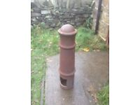 Six off, Heavy duty thick walled cast iron Bollards.