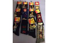 Adult men socks 6-11 shoe size new 12 pairs of