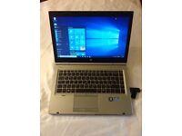 HP 8470elitebook, 240gb SSD, 16gb RAM, i5 3rd gen, 1TB usb2 stick,2 usb3, intel HD 3D graphics