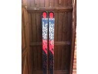 Kastle FX 84 skis plus optional Kastle K12 Ti bindings - 168 cms