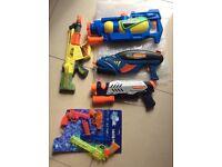 Water play guns