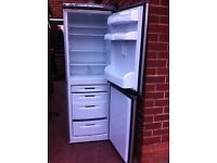 FROST FREE SILVER HOTPOINT FRIDGE FREEZER IN GOOD WORKING CONDITION