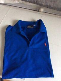 2 designer polo shirts