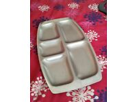Multi section salad tray, nibbles tray
