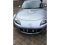 2009 Mazda MX5 2.0 Sportech Roadster with retractable metal roof