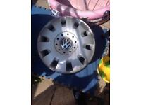 Set of 4 Transporter steel wheels brand new and trims