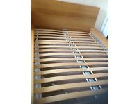 ikea Sultan Lien double bed frame