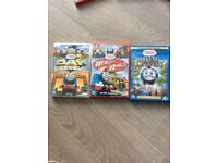 3 Thomas the tank DVDs