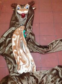 Men's Rudolph onesie