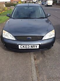 Ford Mondeo Graphite TDCI 2.0 115ps (New MOT Recently)
