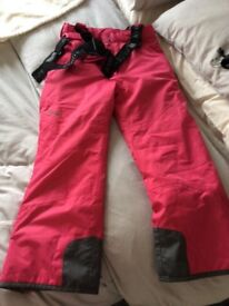 Tog 24 pink aged 9-10 years salopettes