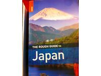 Two travel Books on JAPAN