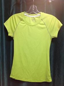 953e9022a3a51d Champion Quick Dry Tee - Womens Small - neon yellow (sku  GNZCQD)