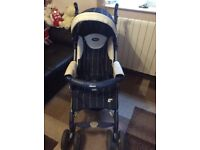 Chicco 3in1 car seat + buggy+carrycot
