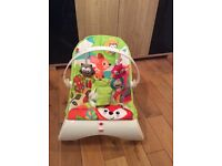 Fisher price baby bouncer chair.