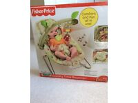 Fisher Price Woodsy Friend Comfy Time Bouncer