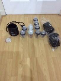 Tommee tippee bottle wormer and bottles