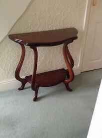 Telephone/Lamp Table