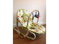 Mothercare Owl Baby Bouncer Seat