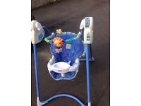 Fisher price linkadoos magical mobile swing