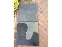 Blue Limestone paving slabs (ideal barbecue base)
