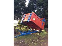 Marshall tipping trailer 2011 6.5 tonner only selling as not used enough