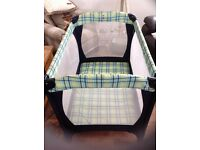 Mothercare travel cot only used a couple of times
