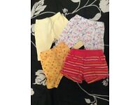 New born baby legging selection