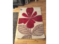 New Red/Creme Next Rug