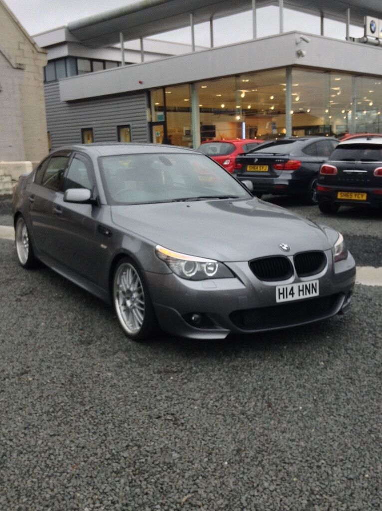 bmw 520d m sport m5 replica lci facelift 2007 e60 525d 530d 535d may px swap in shawlands. Black Bedroom Furniture Sets. Home Design Ideas