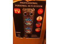 Professional personal hifi system