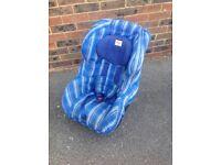 Child safety car seat.
