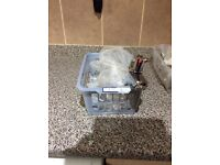 Brand new sink and bath chrome taps