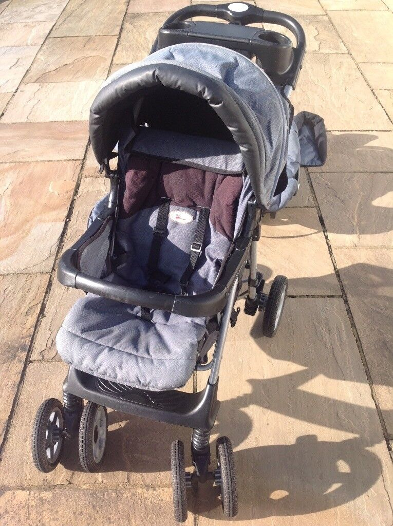 Britax Excel Travel system ( pushchair, car seat and all accessories)£40