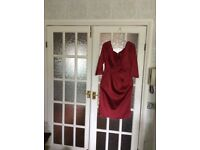 Beautiful dresses for sale sizes 12/14 Designer suit plus lovely shoes, see images.