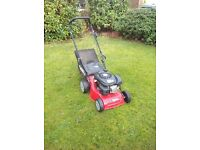 Sanli LSP42 advanced engine-powered lawnmower. Excellent condition, well maintained